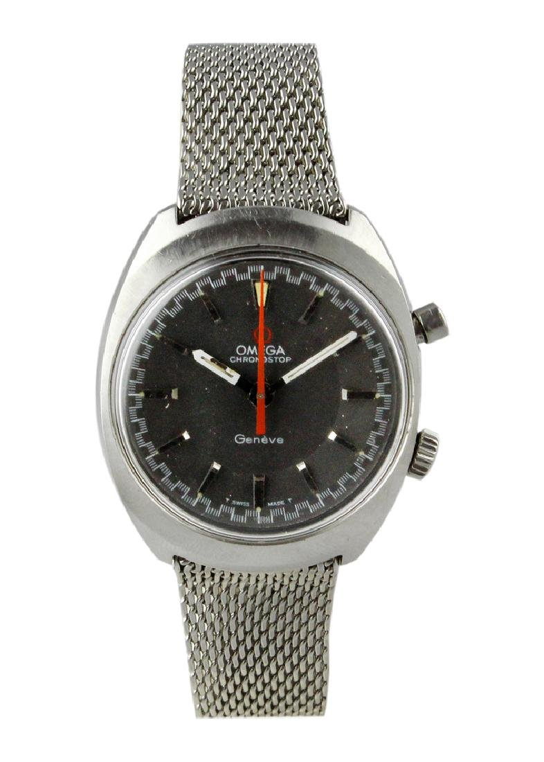 1969 Omega Chronostop Bracelet Watch