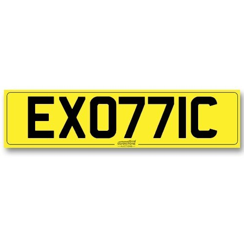 Registration No. - 'EXO77IC'
