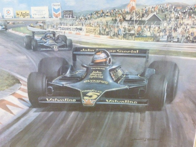 1979 South African GP Print by Michael Turner