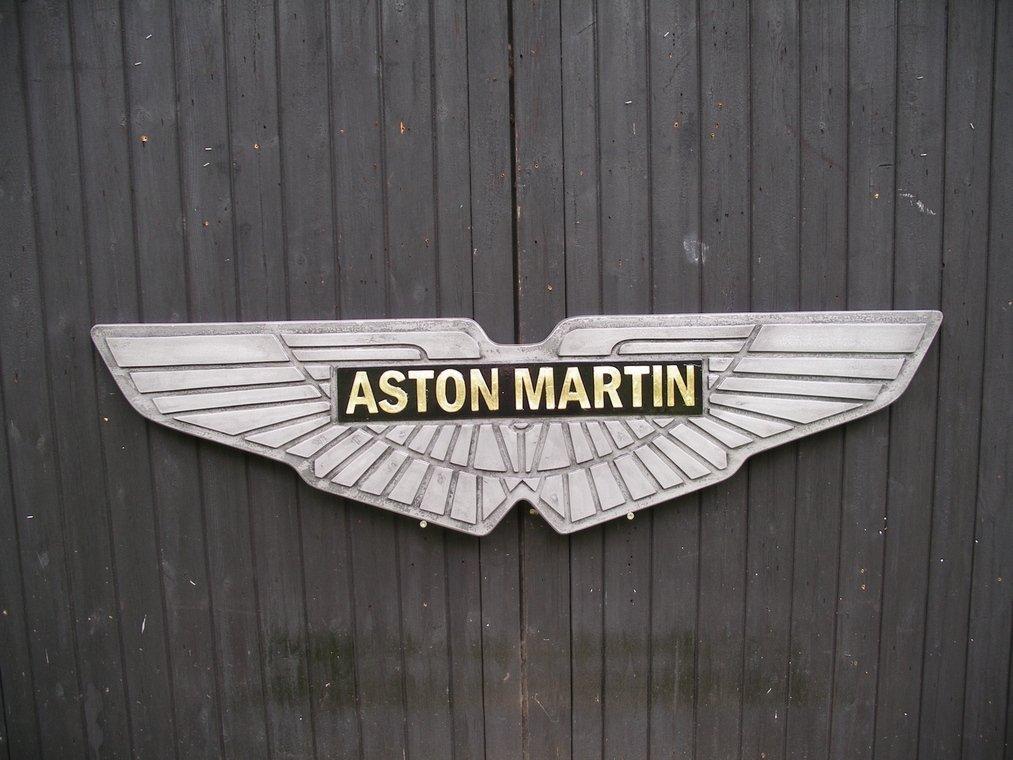 Winged Aston Martin Wall Sign