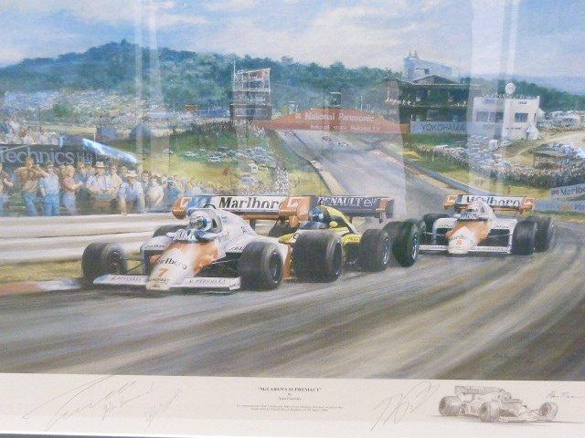 """McLaren Supremacy"" Print by Alan Fearnley"