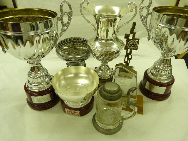 A Mixed Lot of Assorted Trophies and Awards