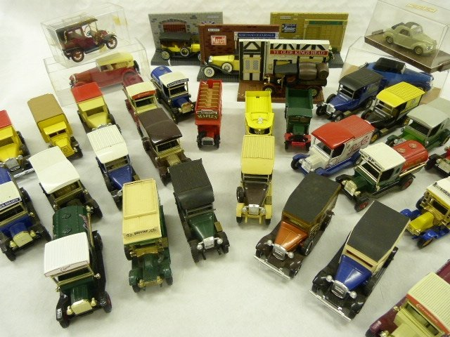 A Collection of 1/43 Model Cars