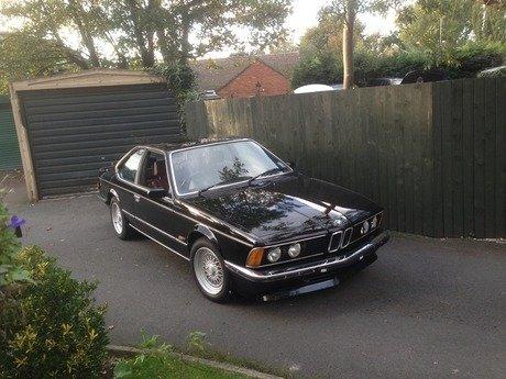 1986 BMW 635CSI AUTO