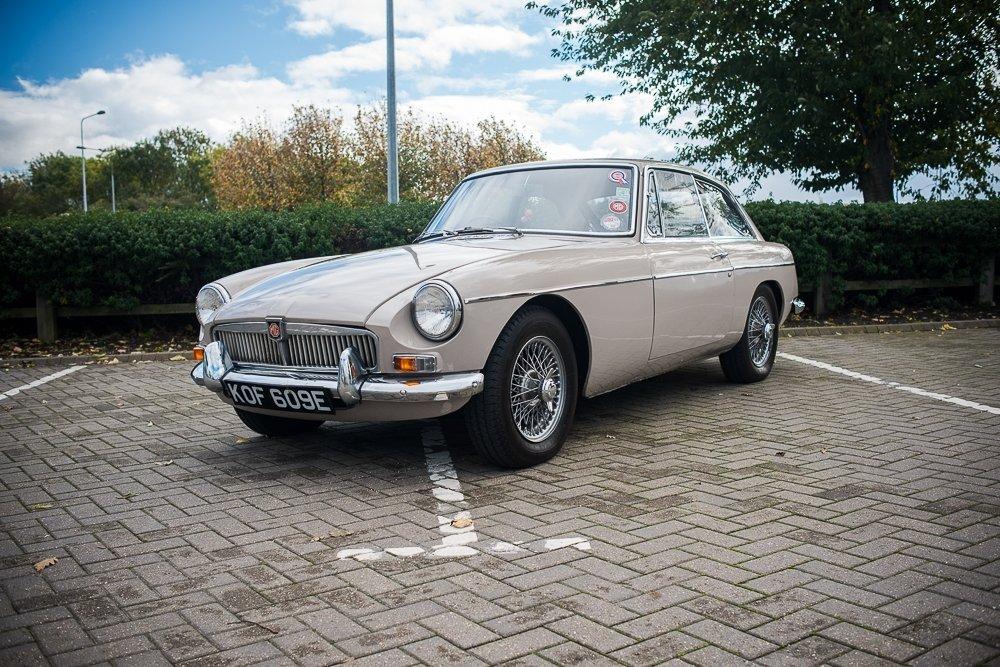 1967 MGB GT Mk.I