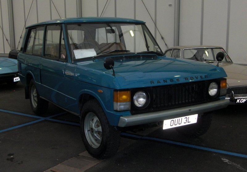 1972 Land Rover Range Rover Suffix A