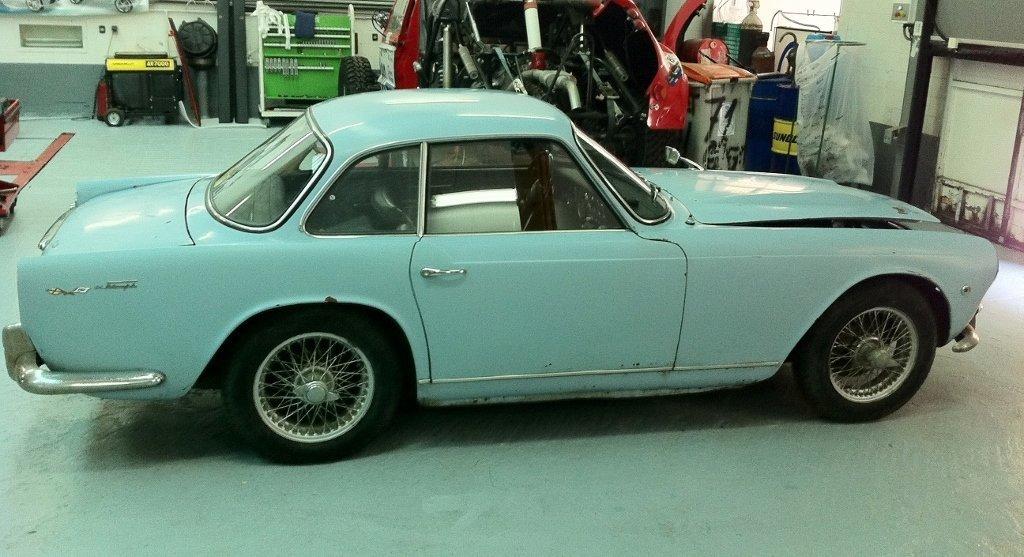 1960 Triumph Vignale Italia 2000