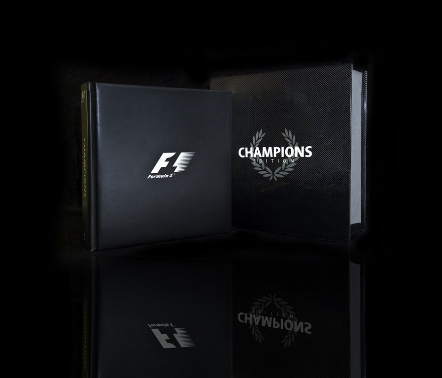 F1 Champions Edition #100/100 Opus Book with British
