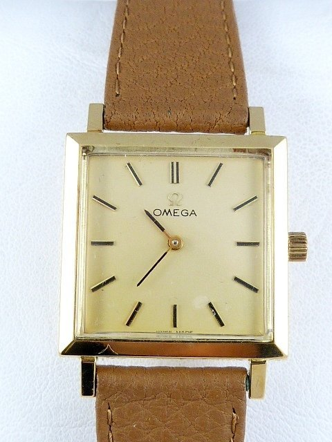 Omega 18ct Gold Watch