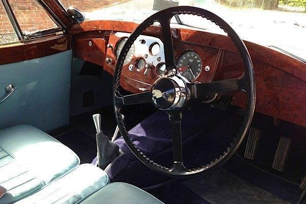 1953 Jaguar XK120 Fixedhead Coupe with Period