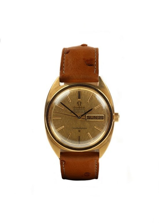 1968 Omega Constellation 18ct Yellow Gold