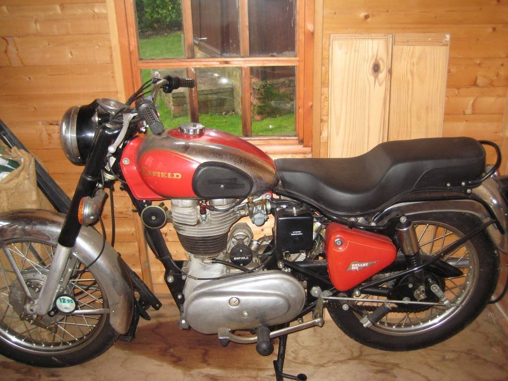 1993 ROYAL ENFIELD 350 BULLET DELUXE WITH 92 MILES ON