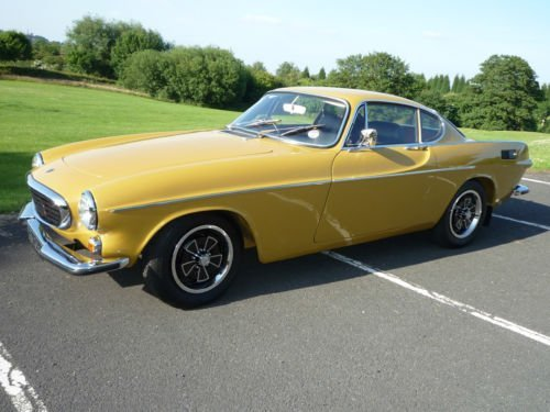 1972 Volvo P1800 Coupe to Concours Standard