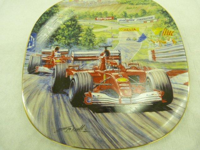 "Ferrari ""The Legend"" set of commemorative Plates"