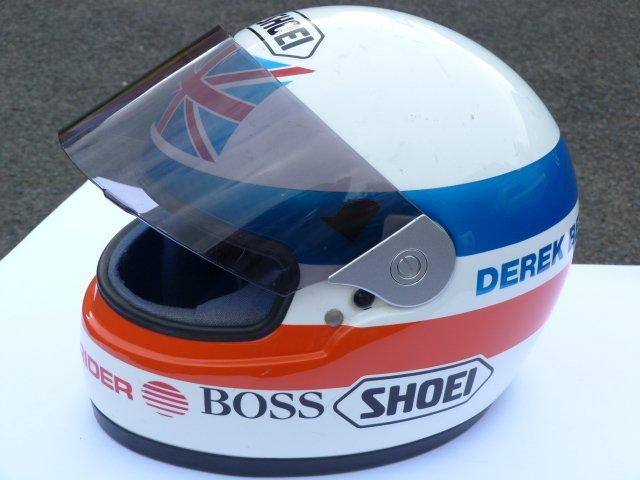 Derek Bell Racing Helmet