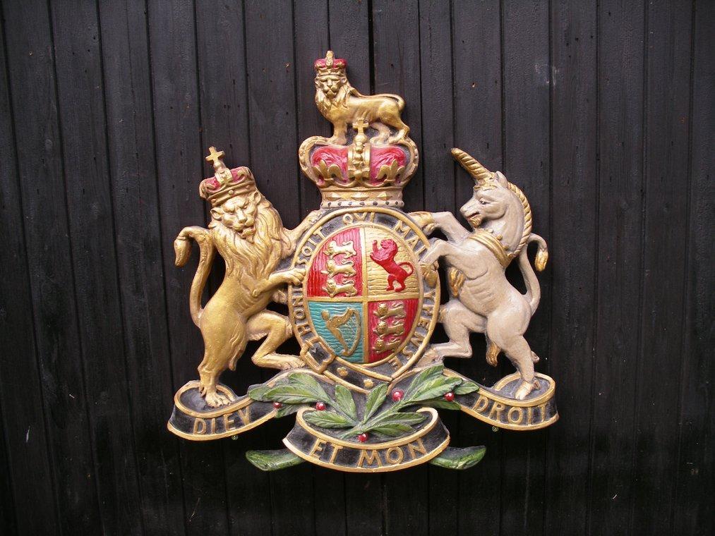 Royal Endorsement Coat of Arms