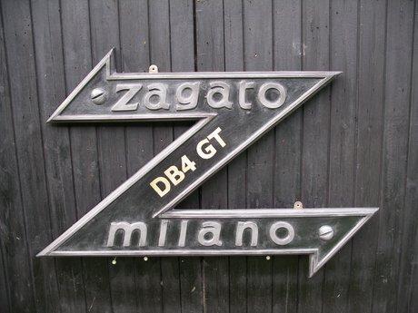 Zagato Milano Badge