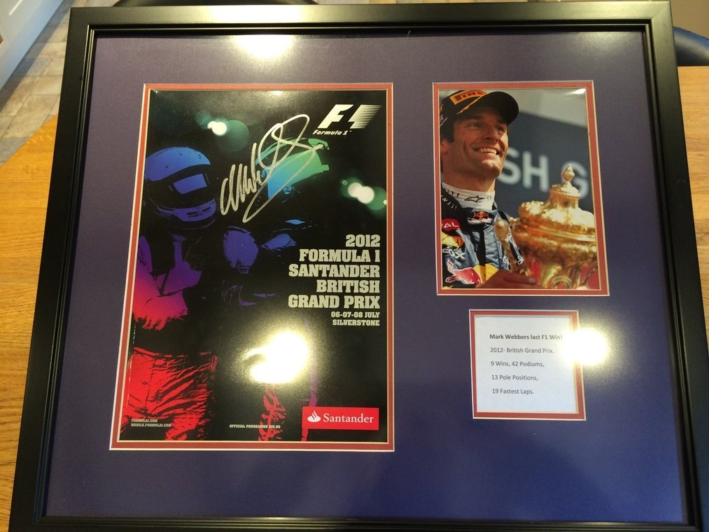 Mark Webber Lot