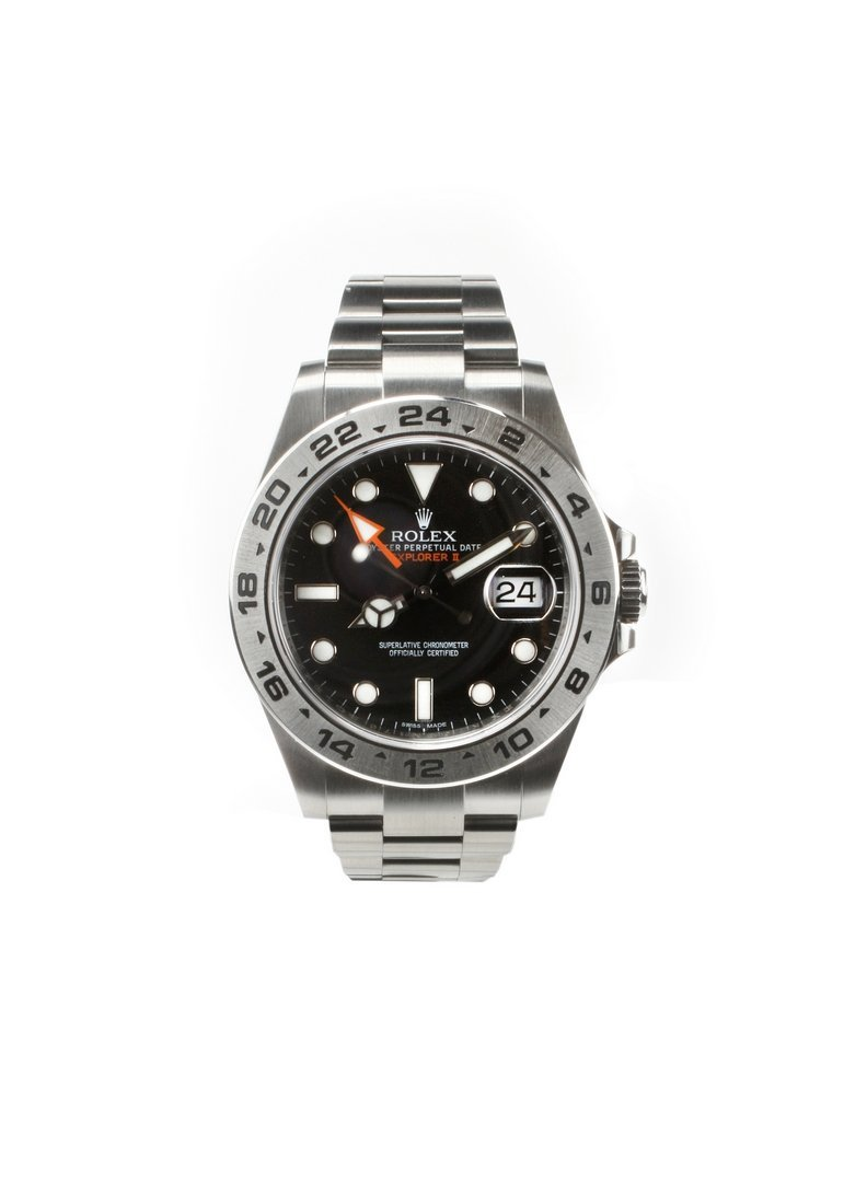 2014 Rolex Explorer 2 Orange Hand Complete with Box and