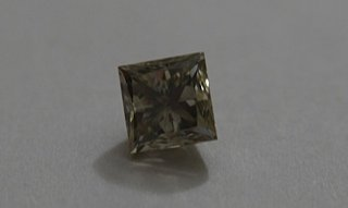 Rare Greenish-Gray Diamond