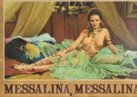 Messalina Empress of Rome Promotional Poster Book