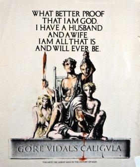 Caligula Original Production Concept Key Art