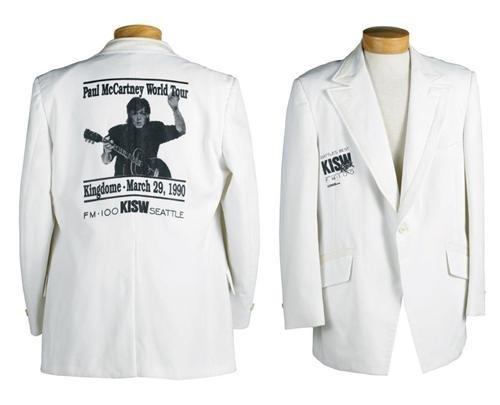 Rare Paul McCartney Promo Concert Jacket + signed Album