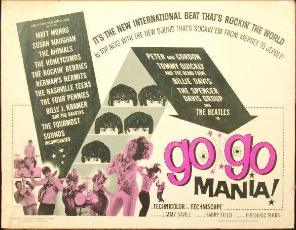 Groupe 8 Rare Poster/Beatles/Dick Clark col/Rod Stewart