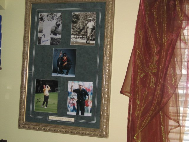Tiger Woods and Golf's only Grand Slam Winners Original