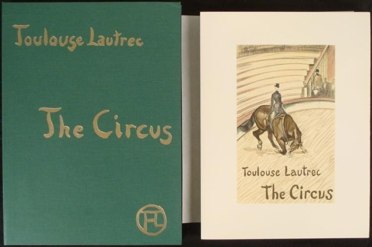 Toulouse-Lautrec The Circus Portfolio 39 Art Prints New