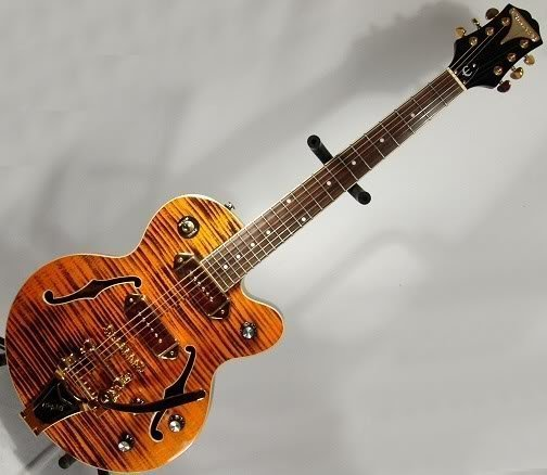 Epiphone Wildkat Electric Guitar Ltd Edition Gold !