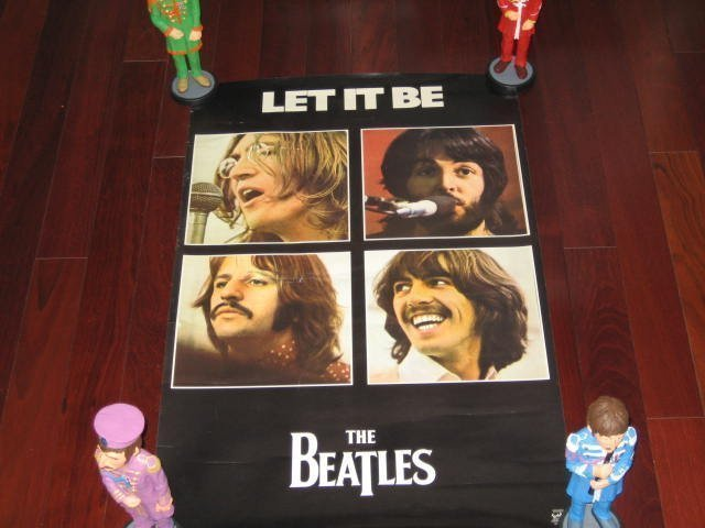 Stunning 7 Rare Poster/Beatles/Dick Clark/Rod Stewart ! - 3