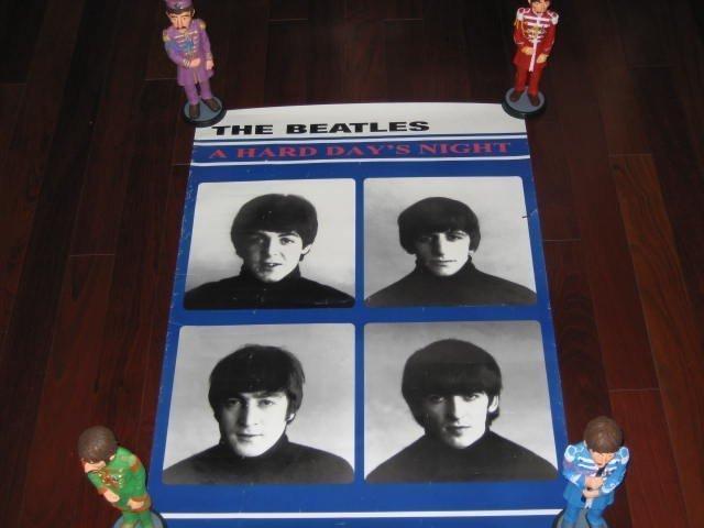 Stunning 7 Rare Poster/Beatles/Dick Clark/Rod Stewart ! - 7