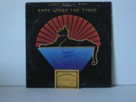GRATEFUL DEAD JERRY GARCIA SIGNED ALBUM COA+TICKET+USD$