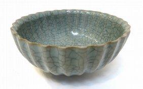 Rare Guan Yao Song/Ming Dynasty Crackle Glaze Bowl