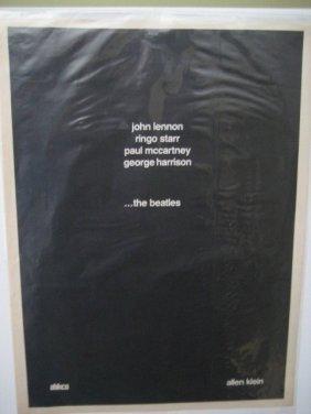 RARE BEATLES, CONTROVERSIAL 1968 PROMO BY ALLEN KLEIN