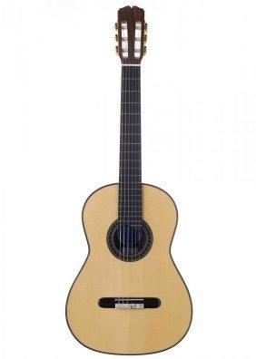 George Harrison Beatles Ramirez Hand Made Guitar COA