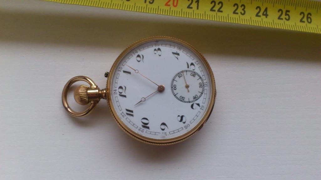 SWISS  ANTIQUE 14 K.GOLD POCKET WATCH!!