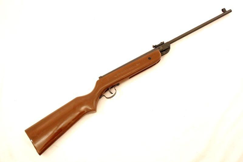 4.5mm Caliber Air Gun Pellet Rifle 177 Caliber W/Wood B