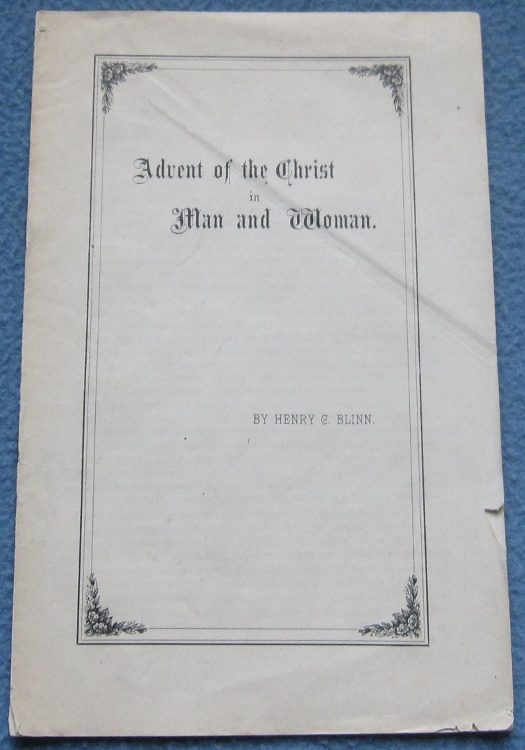 Original 1896 Shaker Pamphlet
