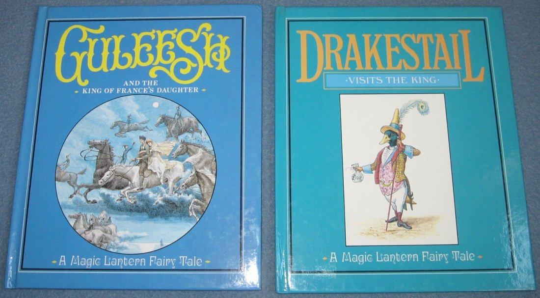 """Two Rare Hardcover """"Magic Lantern Fairy Tale"""" Books"""