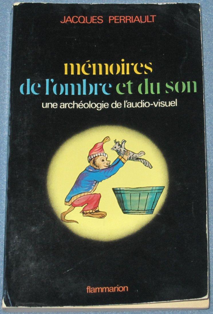 Rare French-Language Book on Origins of Cinema & Media