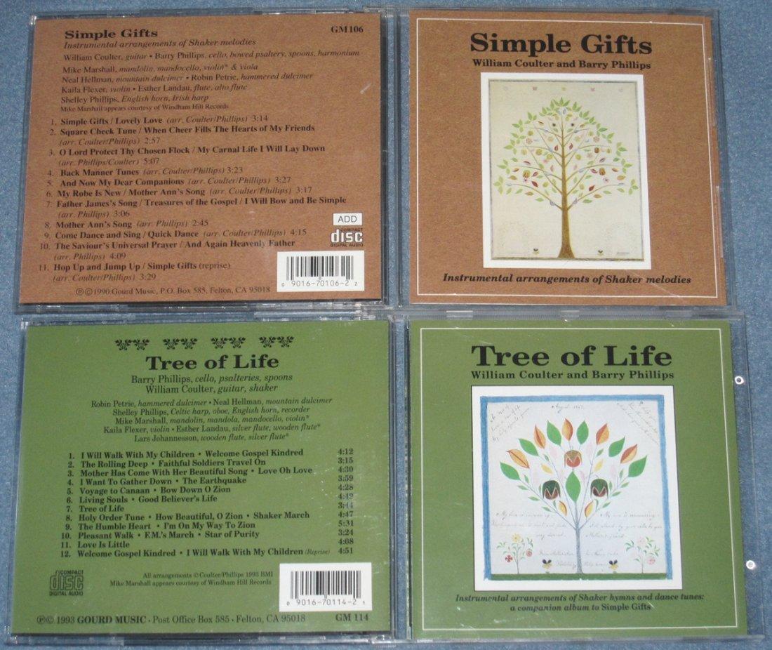 4 Shaker Music CDs
