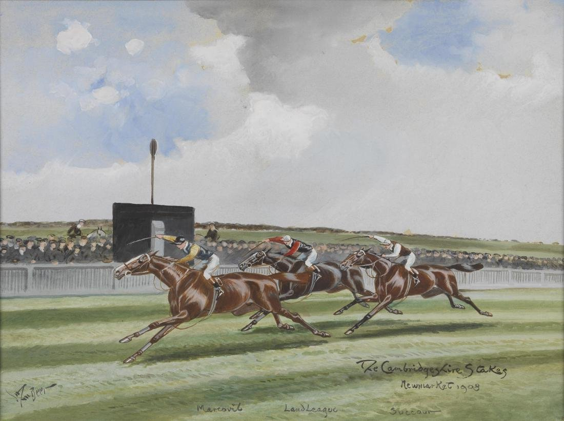 KING'S CUP  and CAMBRIDGE STAKES John Beer
