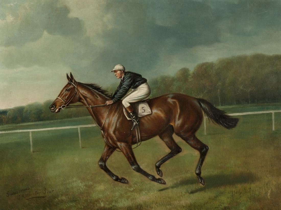 WINNING THE DERBY, John Alfred Wheeler, John Beer
