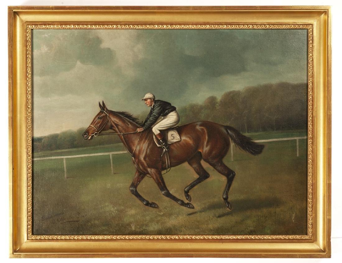 WINNING THE DERBY, John Alfred Wheeler, John Beer - 3
