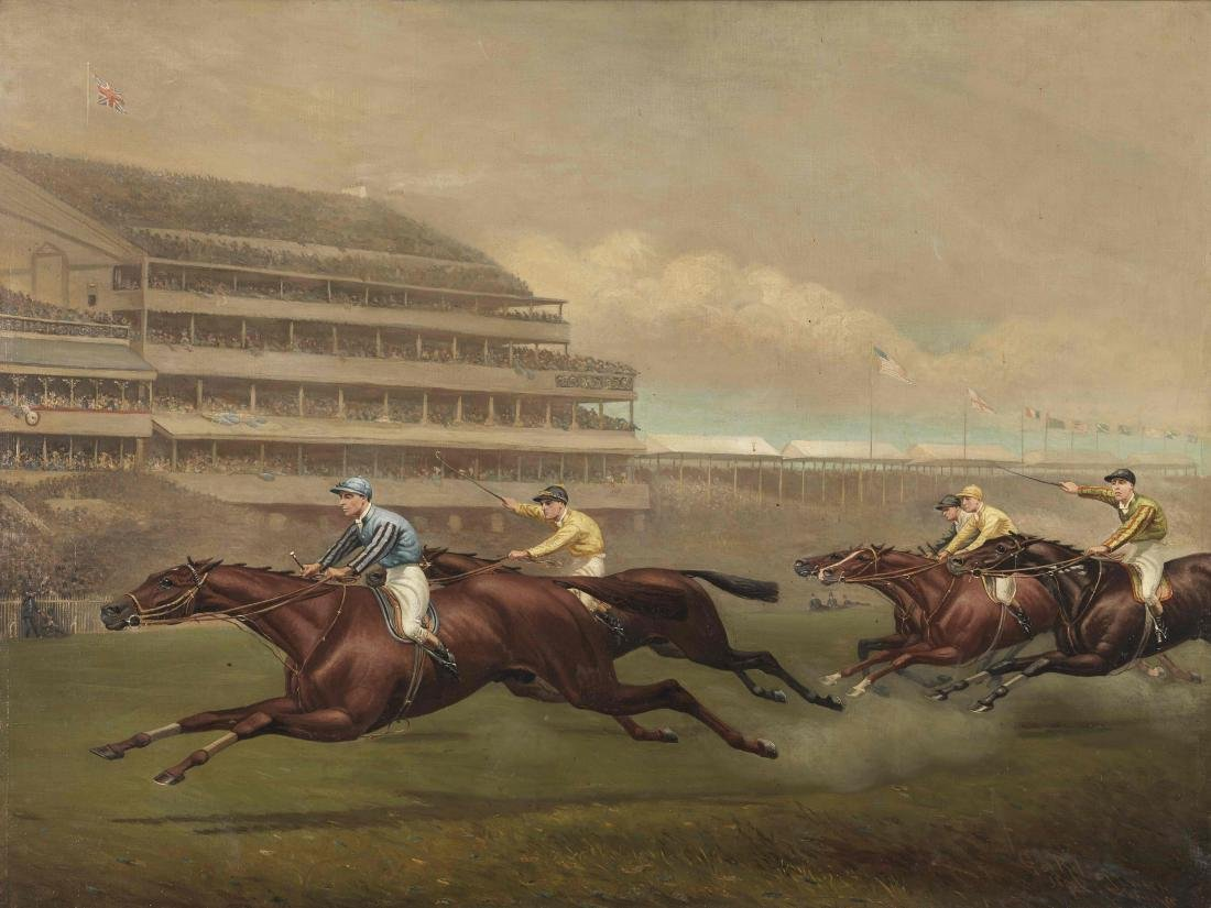 JEDDAH'S DERBY by George Robert Leftwich (British,