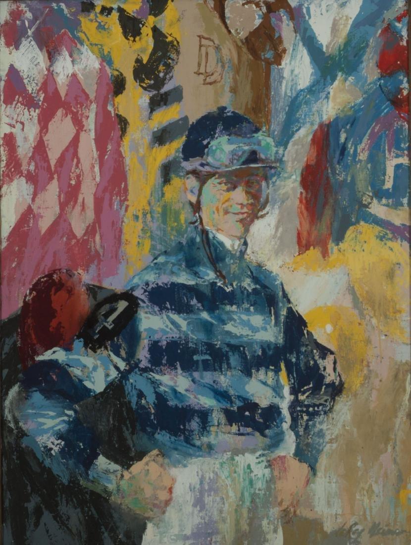 JOCKS ROOM COLORS by LeRoy Neiman (American, 1921-2012)