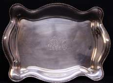Tiffany & Co. Sterling Footed Tray