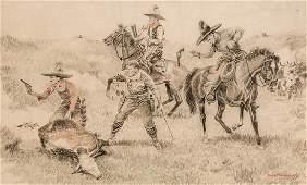 Paul Brown - Cattle Rustlers